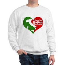 I Love My Italian Husband Sweatshirt