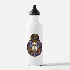 Chaplain Crest Water Bottle