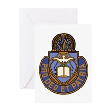 Chaplain Crest Greeting Card