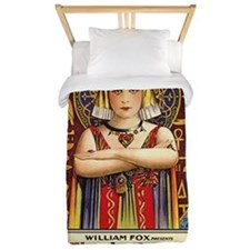 Theda Bara as Cleopatra Twin Duvet