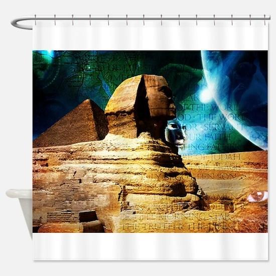 Sphinx Shower Curtain