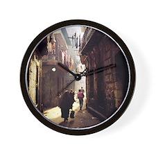 Egyptian Streets Wall Clock
