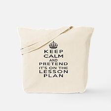 Cute Lesson plan Tote Bag