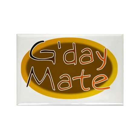 G'day Mate Rectangle Magnet