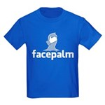 Facepalm Kids Dark T-Shirt