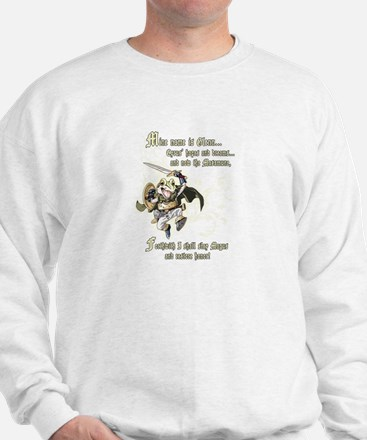 Chrono Trigger - Frog Quote Sweatshirt