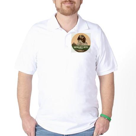 Shepheards Hotel Cairo Golf Shirt