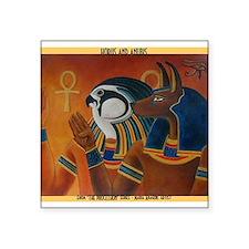 """Best Seller Egyptian Square Sticker 3"""" x 3"""""""