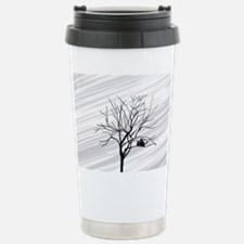 Winter Tree White Travel Mug