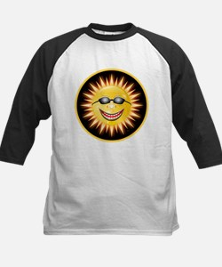Smiling Sunshine Kids Baseball Jersey