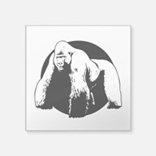 Silverback Rectangle Sticker