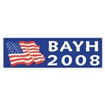 Evan Bayh 2008 bumper sticker