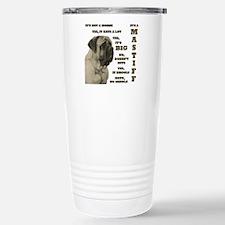 Cute Mastiff Travel Mug