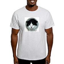 Grumpy Cats Ash Grey T-Shirt