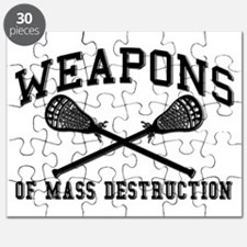 Lacrosse Weapons of Mass Destructions Puzzle