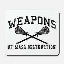Lacrosse Weapons of Mass Destructions Mousepad