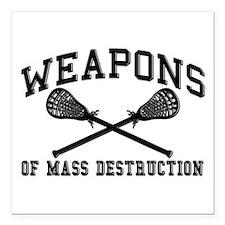 Lacrosse Weapons of Mass Destructions Square Car M