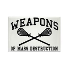 Lacrosse Weapons of Mass Destructions Rectangle Ma