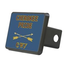 Proud To Be Cherokee Hitch Cover