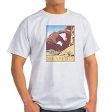 Arches National Park WPA Poster T-Shirt