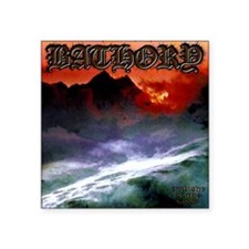 "Bathory Square Sticker 3"" x 3"""