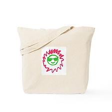 Smiling Sun Glasses Tote Bag