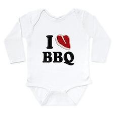 I Love BBQ Body Suit