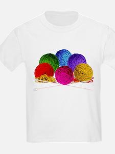 Great Balls of Bright Yarn! T-Shirt