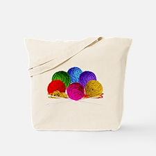 Great Balls of Bright Yarn! Tote Bag