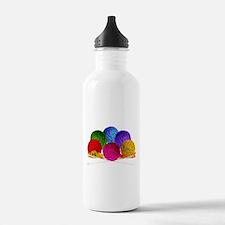 Great Balls of Bright Yarn! Water Bottle