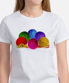 Great Balls of Bright Yarn! Women's T-Shirt
