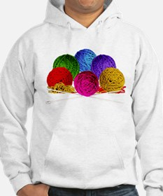 Great Balls of Bright Yarn! Hoodie