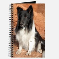 BLack and White Sheltie Journal