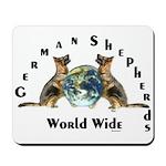 German Shepherds WW Mousepad