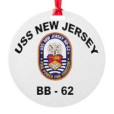 BB 62 New Jersey Ornament