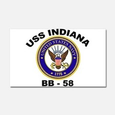 BB 58 IN trans.png Car Magnet 20 x 12
