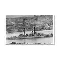 USS Arizona BB 39 small.jpg Car Magnet 20 x 12