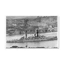 USS Arizona BB 39 small.jpg Car Magnet 20 x 12