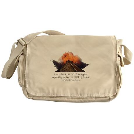 I survived the 2012 Mayan Apocalypse Messenger Bag