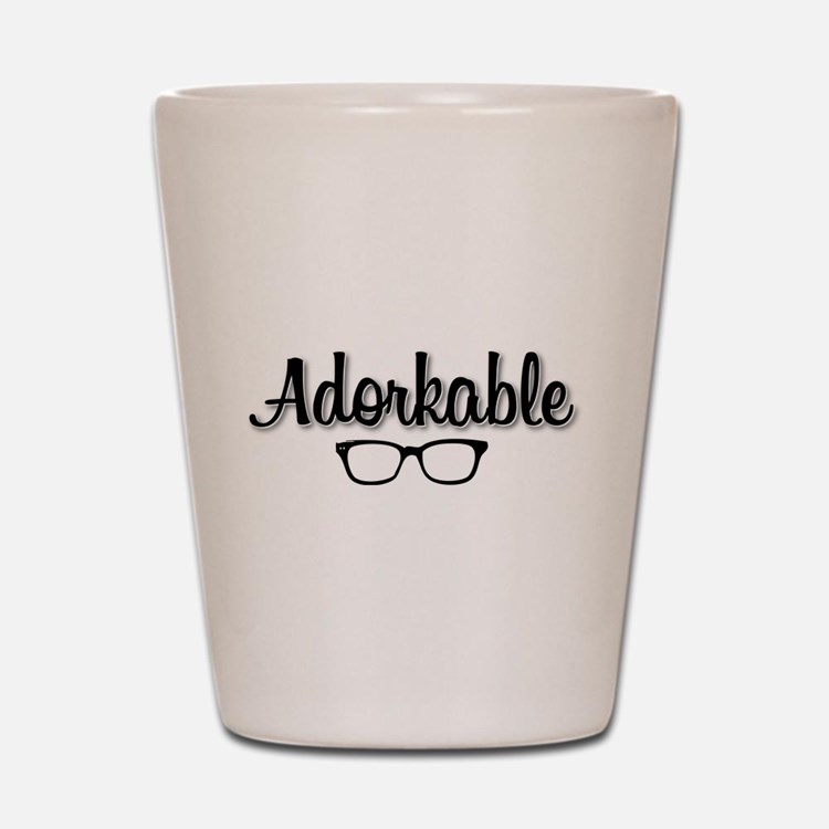 Adorkable Shot Glass