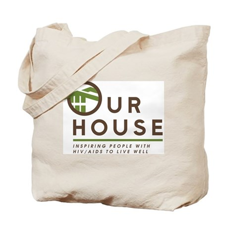 Our House Logo Tote Bag