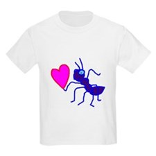 Blue Ant with Heart T-Shirt