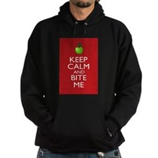 Keep Calm and Bite Me Hoodie