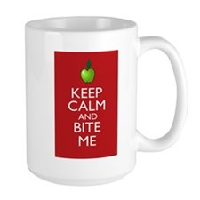 Keep Calm and Bite Me Mug
