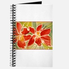 Red orchids! Beautiful art! Journal
