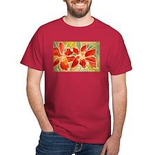 Red orchids! Beautiful art! T-Shirt