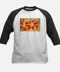 Red orchids! Beautiful art! Tee