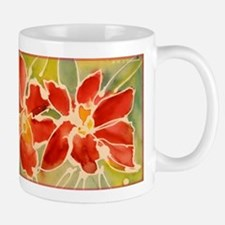 Red orchids! Beautiful art! Mug