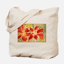 Red orchids! Beautiful art! Tote Bag