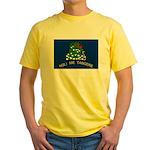 Flag of Alabama 1861-1865 rev Yellow T-Shirt